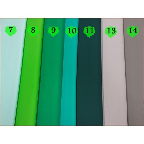 Tkan. Zielony - kolor nr 9