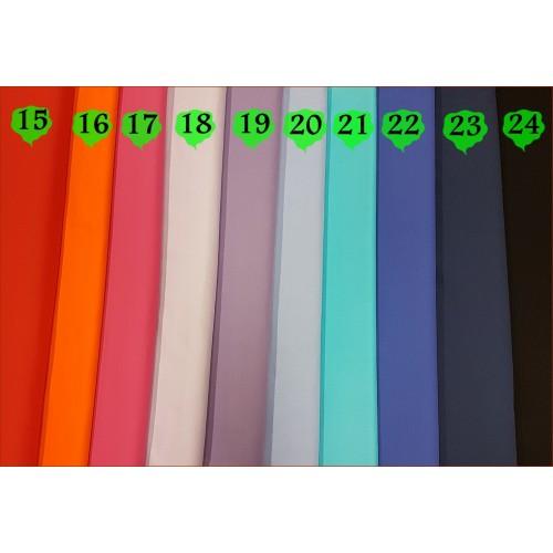 Tkan. Turkusowy - kolor nr 21