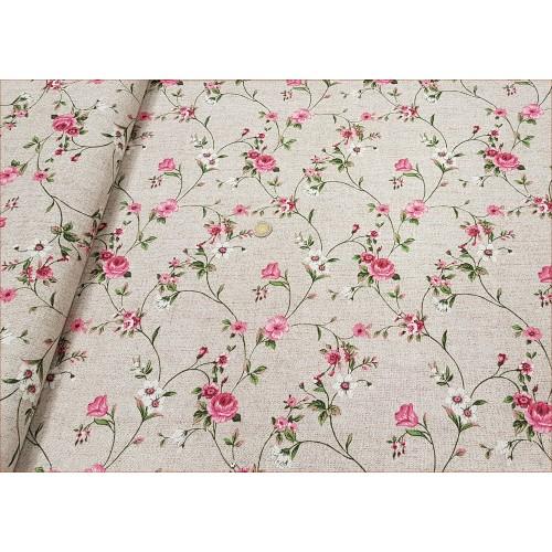 Kwiatki Różowe - Dekor