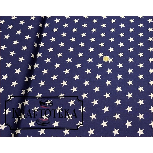 Gwiazdki Białe na Granacie
