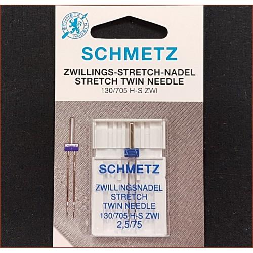Igła Schmetz - STRETCH Podwójna 2,5/75