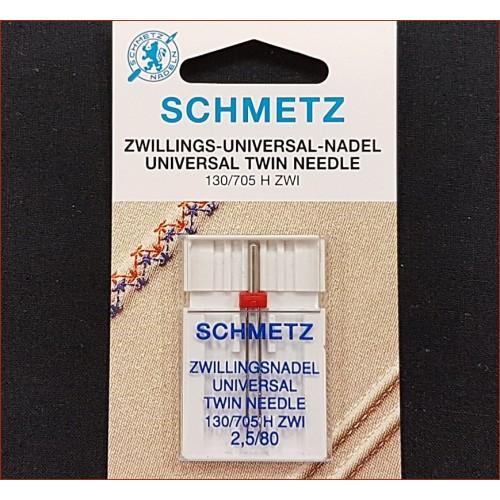 Igła Schmetz - UNIWERSAL Podwójna 2,5/80