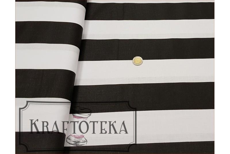 Pasy Czarno-Białe Szerokie
