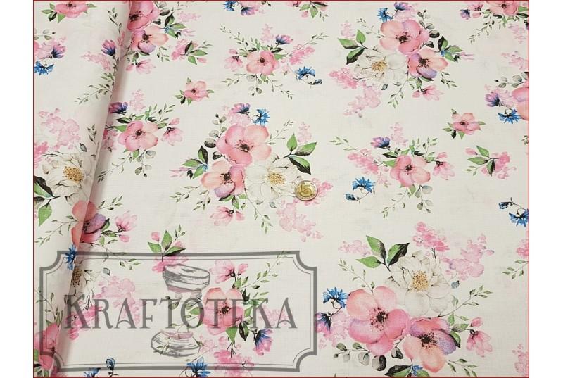 Kwiaty Jabłoni na Bieli