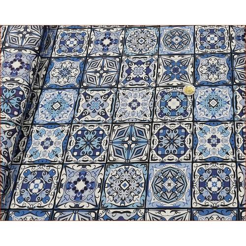 Mozaika Niebieska -Dekor