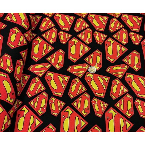 Superman Logo na Czarnym -Cyfra