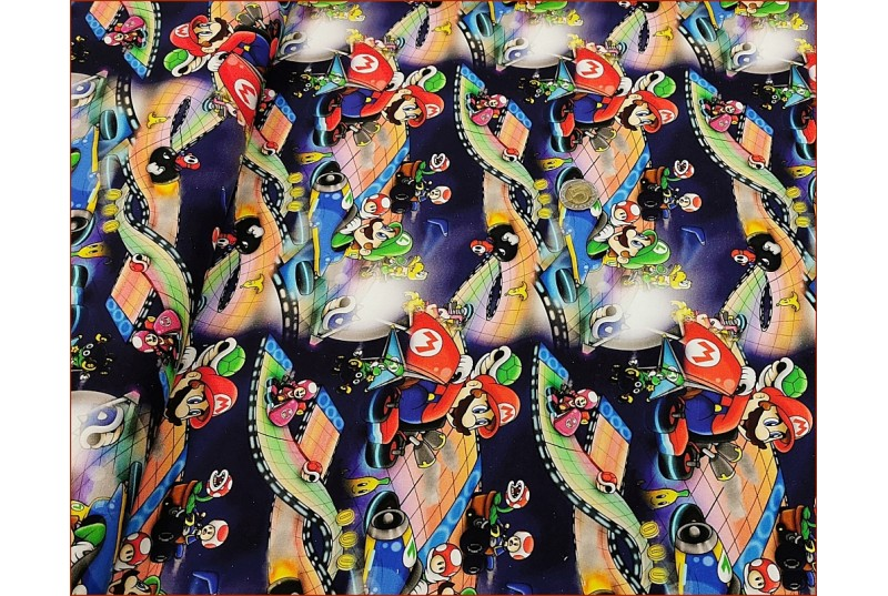 Super Mario - Luigi na Granacie -Cyfra