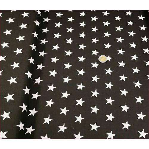 Gwiazdki Białe na Czarnym