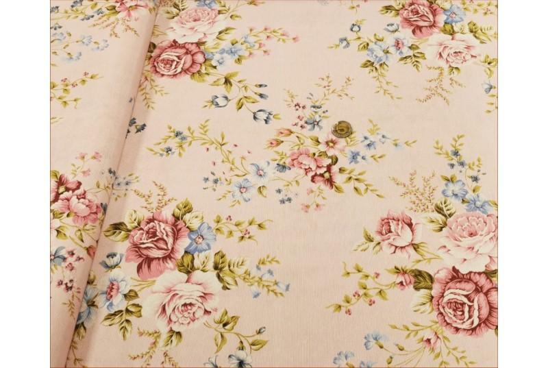 Róże Różowe na Różu -Decor
