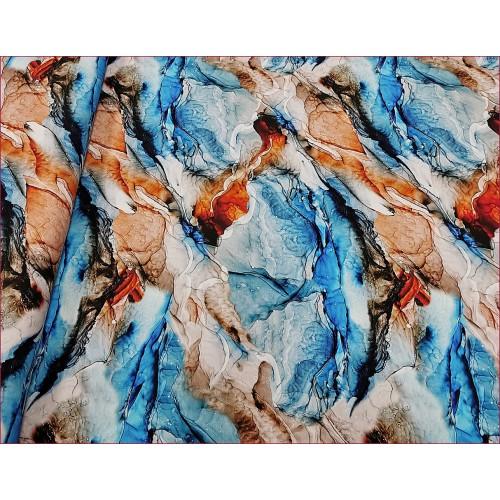 Marmur Niebieski Beżowy -Cyfra