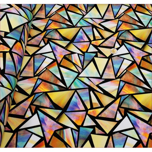 Kryształy Trójkąty Tęczowe -Cyfra