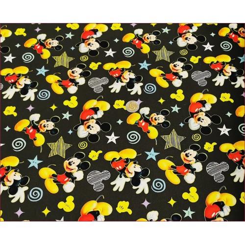 Myszka-Żółte Buty -Grafit -Cyfra