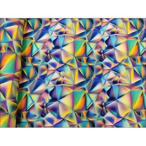 Kryształy-2 MIX Tęcza z Niebieskim -Cyfra