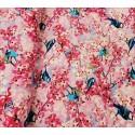 Sikorka i Kwiaty Różowe-Cyfra