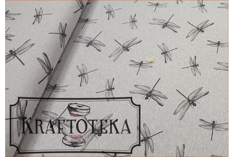 Ważki Grafit - Szary