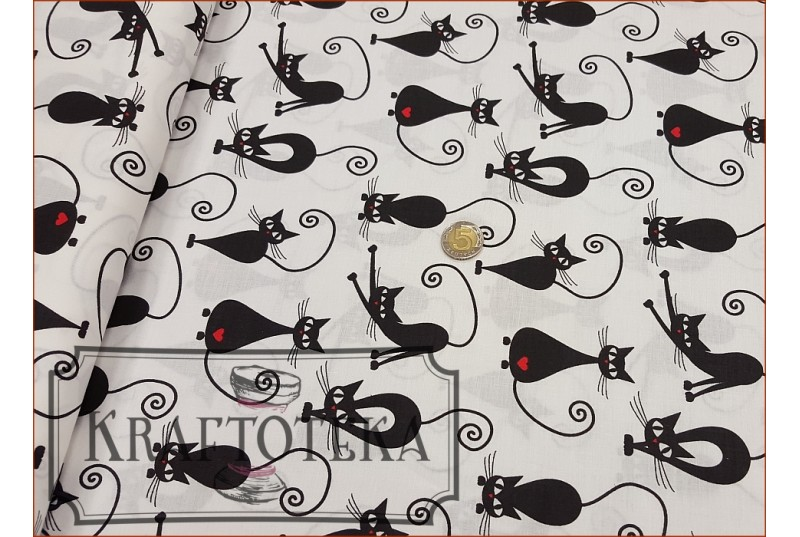 Koty Czarne na Bieli - Serce