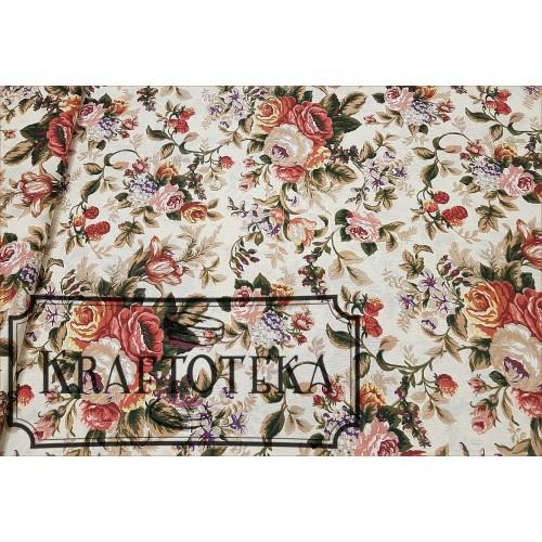 Róże Angielskie Duże na Ecrue